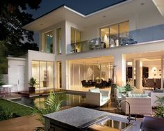 This one has everything I need...    Contemporary Exterior Design, Pictures, Remodel, Decor and Ideas