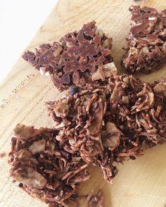 グルテンフリーの焼かないローチョコレートクッキー