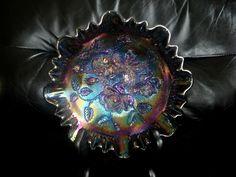Rose Bowl - Carnival Glass