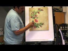 Mark Shows you how to paint with the OneStroke UK beginner kit using the One Stroke painting method created by Donna Dewberry. the kit can be ordered from ww...