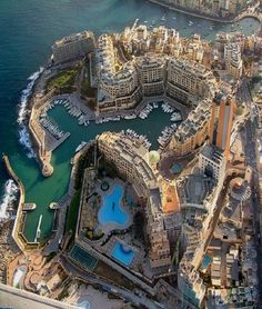 Balluta Bay, Saint Julian's, Island, Malta Malta Island, Places Around The World, Travel Around The World, Around The Worlds, Places To Travel, Places To See, Travel Destinations, Travel Tourism, Dream Vacations