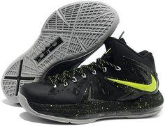 Nike Lebron 10 P.S Elite Green Black Grey