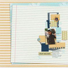 Layout by Karen. Supplies: All Around Town by Amy Jaz Designs; Template by Emily Merritt.