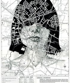 His face map portraits are complex and stunning works of visual poetry