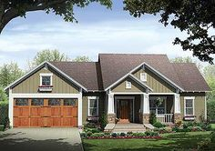 Ugh! This home! With a navy exterior and white trimmings!!! Dream!