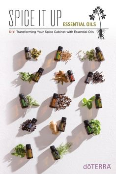Did you know you can substitute most dry spices and herbs with essential oils? Compared to your ordinary dry herb collection, essential oils are far more potent and flavorful. With just one drop of essential oil added to your favorite recipe, you'll experience a burst of fresh flavor with unique health benefits