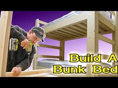 Bunk beds are great to save bedroom space with 2 or more person. If you want to build it, bookmark this collection of free DIY bunk bed plans. Bunk Beds With Stairs, Cool Bunk Beds, Kids Bunk Beds, Loft Beds, Loft Bed Plans, Murphy Bed Plans, Jays Custom Creations, Ideas Habitaciones, Triple Bunk Beds