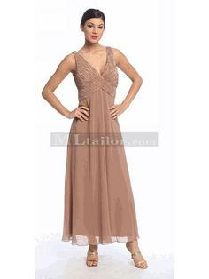 Mother of the Bride/Groom Full Length Formal Dress. Perfect for any occasion - (Available in Black, Almond, Burgundy, Teal in M to Mother Of Groom Dresses, Bride Groom Dress, Mothers Dresses, Mother Of The Bride, Long Formal Gowns, Formal Evening Dresses, Evening Gowns, Dress Formal, Chiffon Dress