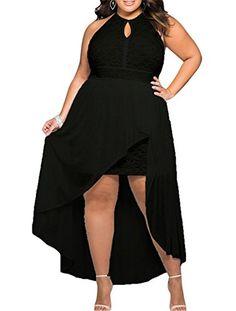 7f4070f7fe19 High low summer dress women clothes 2017 long elegant girls dresses big  plus size XXXL black white lace special occasion. Cfanny Fashion