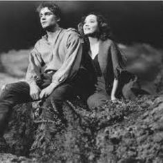 Laurence Olivier and Merle Oberon in Wuthering Heights - the classics are always better than the remakes!
