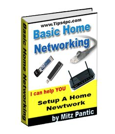 How to set up a wireless home network with all computers sharing the same internet connection