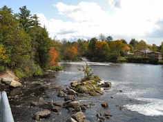 Magnetawan River area - where the cottage is. Lovely!
