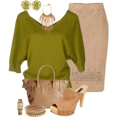 """Michael Kors Sweater"" by arjanadesign on Polyvore"