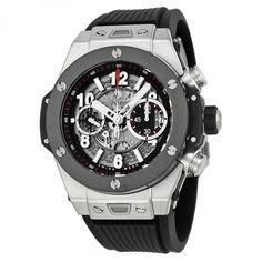 Hublot Big Bang Unico Titanium Ceramic Skeletal Dial Mens Watch 411.NM.1170.RX