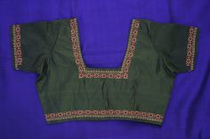 Saree Blouse with Kasuthi embroidery | Flickr - Photo Sharing!
