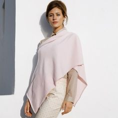 Eric Bompard - Poncho {in Pink Icing}