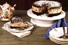 Cheesecake stracciatella No Cook Desserts, Tiramisu, Avocado, Cheesecake, Sweets, Cooking, Ethnic Recipes, Food, Decor