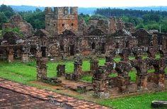 Ruinas de San Ignacio Misiones Argentina