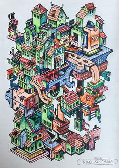 Blog Coloring Book Interview Series 15 Nigel Sussman