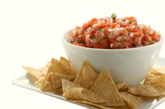 In Blue Cactus you can have your tortilla chips with garlic, cheese or corn salsa