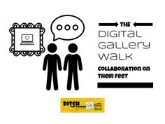 The Digital Gallery Walk: Collaboration on their feet - Ditch That Textbook Differentiation In The Classroom, Classroom Resources, Model School, Creative Teaching, Teaching Ideas, Blended Learning, Google Classroom, Sticky Notes, Student Work
