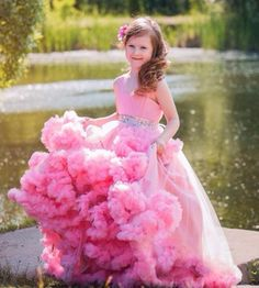 Pink-A-Line-Lace-Up-Tulle-With-Crystal-Sashes-First-Communion-Dresses-For-Girls-12-Vestidos