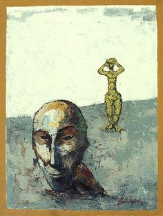 The World and the Katafigiotis Art Painter Artist, Painters, Modern Contemporary, Greek, World, Gallery, The World