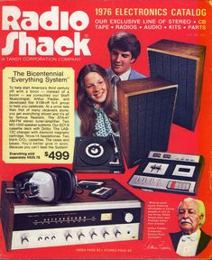 "1976 Radio Shack — The Bicentennial ""Everything System"""