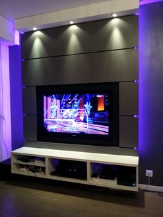 Lcd Unit Design, Wall Unit Designs, Tv Stand Designs, Living Room Partition, Ceiling Design Living Room, False Ceiling Design, Modern Tv Room, Modern Tv Wall Units, Tv Unit Decor