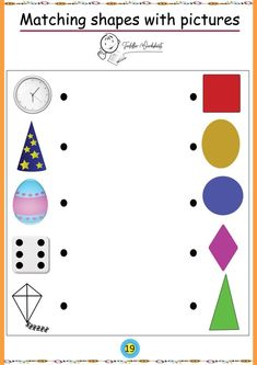 Preschool shapes worksheets are the perfect way to teach your child about all the different kinds of shapes. Try our preschool shapes printables with your kid. Shape Worksheets For Preschool, Creative Curriculum Preschool, Homeschool Worksheets, Shapes Worksheets, Kindergarten Math Worksheets, Preschool Learning Activities, Free Preschool, Preschool Printables, Alphabet Worksheets