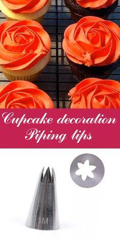 Cupcake Decorating Tips, Cake Decorating Frosting, Cake Decorating Designs, Cake Decorating Techniques, Cookie Decorating, Buttercream Cake Designs, Frosting Tips, Frosting Techniques, Cake Recipes Without Oven