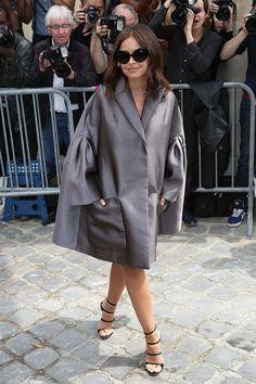 Miroslava Duma - At the Christian Dior Haute Couture Fall/Winter 2014-2015 Show @ Paris Fashion Week. (July 2014)