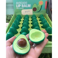 This avocado won't go well with toast but it will protect and moisturize your lips. Peach Lips, Purple Lips, Ombre Lips, Lip Plumping Balm, Lip Balms, Lips Painting, Anime Lips, Gloss Labial, Lip Wallpaper