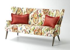 NEW April 2013 Introduction Featuring Our Sofa Shown In Scribble   Multi ~ Wesley  Hall Furniture