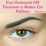 Easy Homemade DIY Treatment to Reduce Eye Puffiness