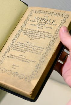 The first English-language book printed in America was auctioned at Sotheby's on… Most Expensive Book, Expensive Art, World Of Books, Book Signing, Book Collection, The Hobbit, English Language, Book Covers, Psalms