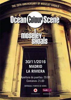 Concierto de Ocean Colour Scene el 30 de noviembre 2016 en Madrid