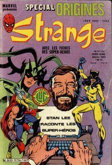 Couverture de Strange (Spécial Origines) -157bis- Strange 157 bis