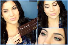 Too Faced Chocolate Bar Palette Tutorial!