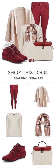 """""""Colored jeans & plaid scarf"""" by dgia ❤ liked on Polyvore featuring Woolrich, La Fiorentina, Jam Love, Allurez, women's clothing, women, female, woman, misses and juniors"""