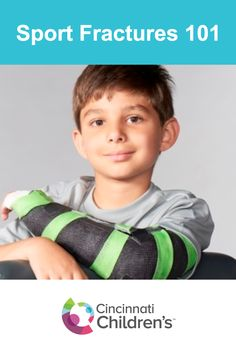Fractures are the most common injuries in orthopaedic sports medicine. If you think your child may have sustained a fracture injury, it's always best to have it examined. Learn more about the signs and symptoms to look for.
