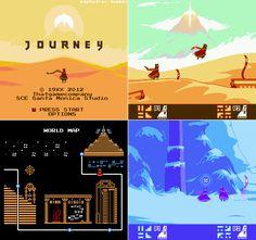 Journey (NES Mockup) Pixel Artist: Michafrar Source: pixeljoint.com
