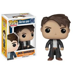 Funko Doctor Who POP Jack Harkness Vinyl Figure - Radar Toys