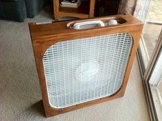 Simple Fan Fillter Box w/Allergy filter