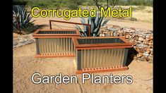 You will love these amazing Raised Herb Garden Planter Ideas and there is something for everyone. Watch the video tutorial too. Raised Herb Garden, Cheap Raised Garden Beds, Herb Garden Planter, Garden Boxes, Raised Beds, Glass Garden, Garden Ideas, Metal Planter Boxes, Wood Planters