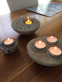 Betongiessen - Kleine einfache Geschenke zum selbermachen
