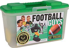Football Guys: Black vs Gray Football Action Figures, Football Action Figure Toys - $24.99 : Kaskey Kids