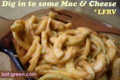 Low Fat Raw Vegan Macaroni & Cheese - Kat Green