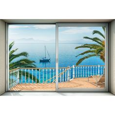 "Tranquillo 145' x 98"" 4 Piece Wall Mural"
