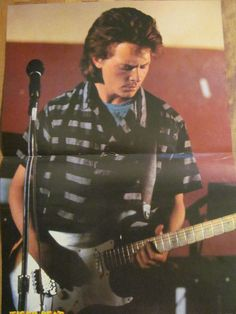 Michael J. Fox, Two Page Vintage Centerfold Poster